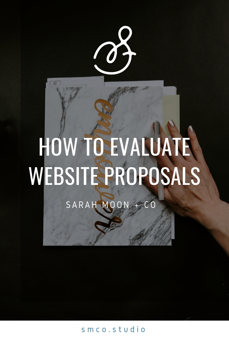How to Evaluate Website Proposals - Sarah Moon + Co