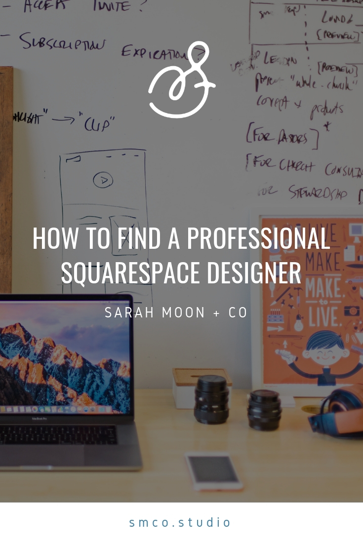How to find the best Squarespace designer for your new website!