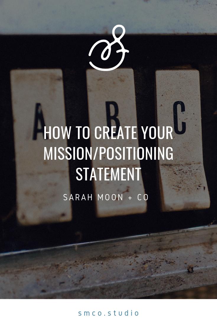 mission/positioningstatement