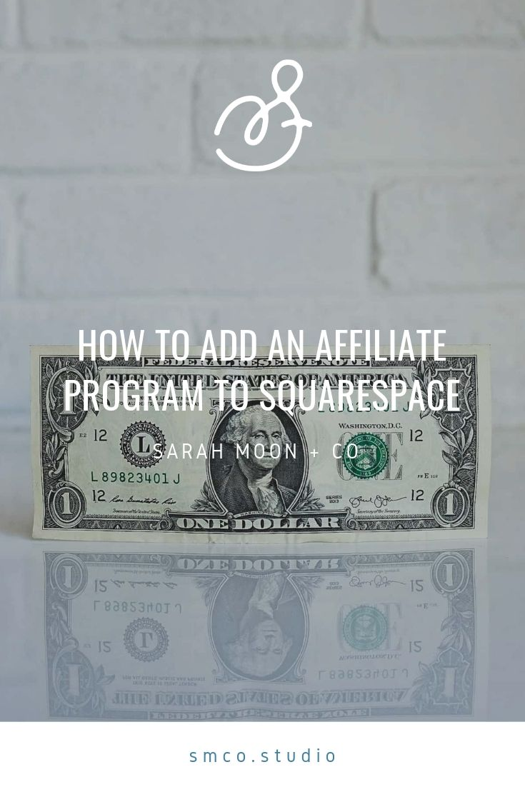 How to add an affiliate program to Squarespace