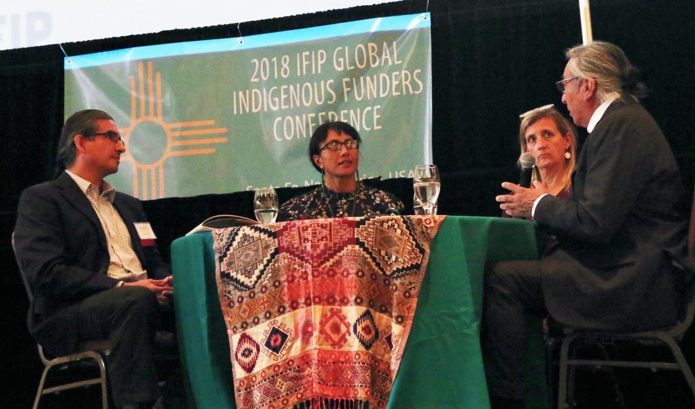 IFIP conference funders panel WK Kellogg, J R McKenzie Trust, Oak Foundation, Colorado Plateau Foundation