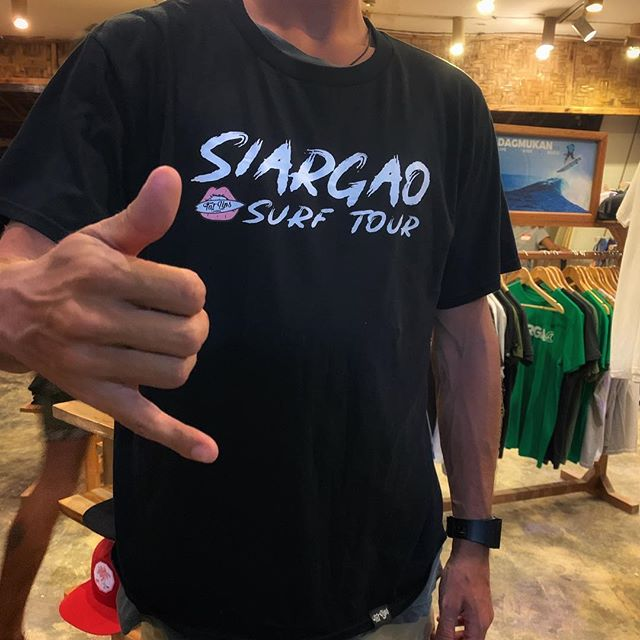 Have you surfed all these spots yet??? Siargao surf tour shirt now in store! #fatlips #surfshop #siargao  #fatlipssurfshop