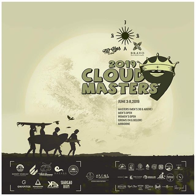 Yes! It's on!  Cloud 9 Masters surf comp starts in a few days and Fat Lips is proud to be a major sponsor!