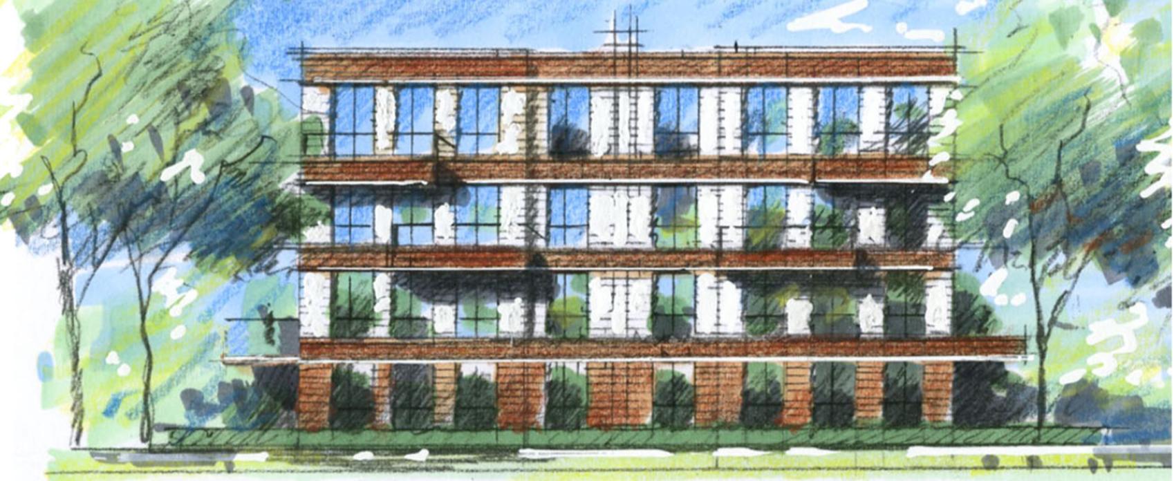 appartementen - In het groen worden drie appartementenblokjes gerealiseerd met per gebouw 15 appartementen, variërend in grootte van ca. 78 m2 t/m ca. 92 m2 GBO.In één van deze blokjes zullen huurappartementen in het middeldure segment worden gerealiseerd. Wie deze appartementen gaat verhuren is nog niet bekend.