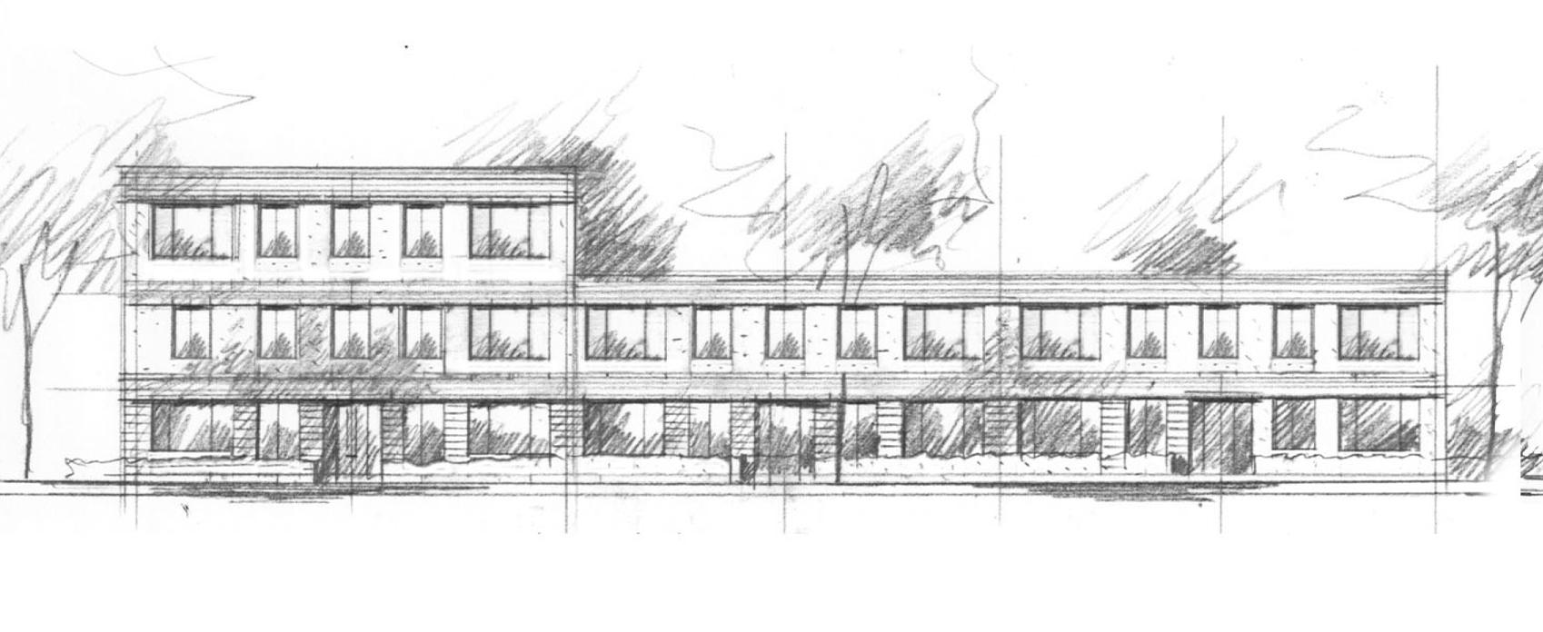 bebo appartementen - De woningen (BEneden – BOven) zijn kleine sociale huur appartementen met een oppervlakte van ca. 50 m2 GBO. Het is nog niet bekend wie deze woningen gaat verhuren.
