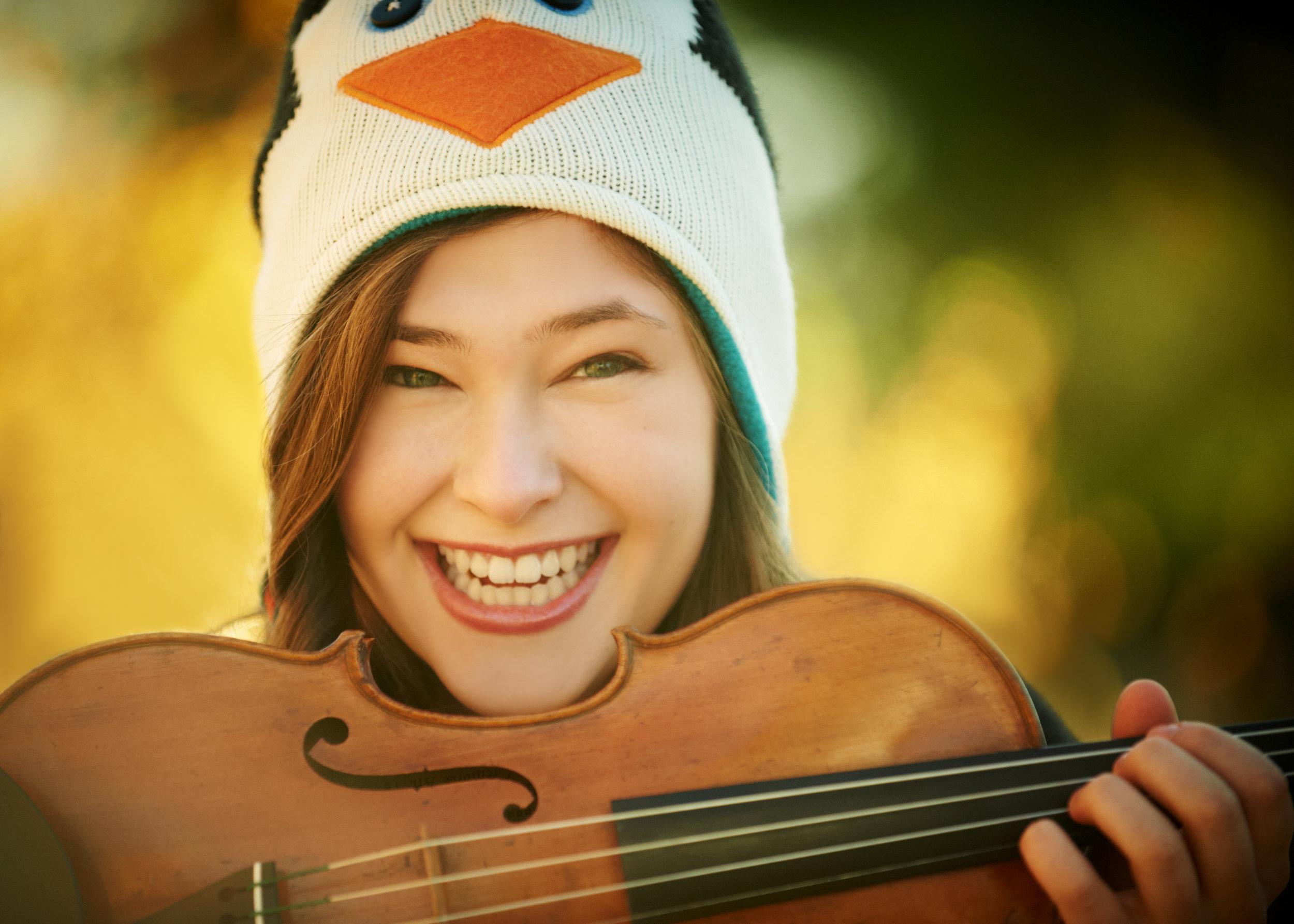 Ariel Horowitz - violinist, From the Top alum