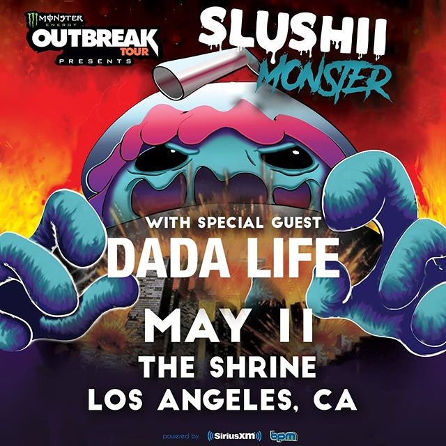 LA it's going down this Saturday at @shrinela with special guest @dadalife! Tag your squad and let's have an insane night 🔥🔥🔥