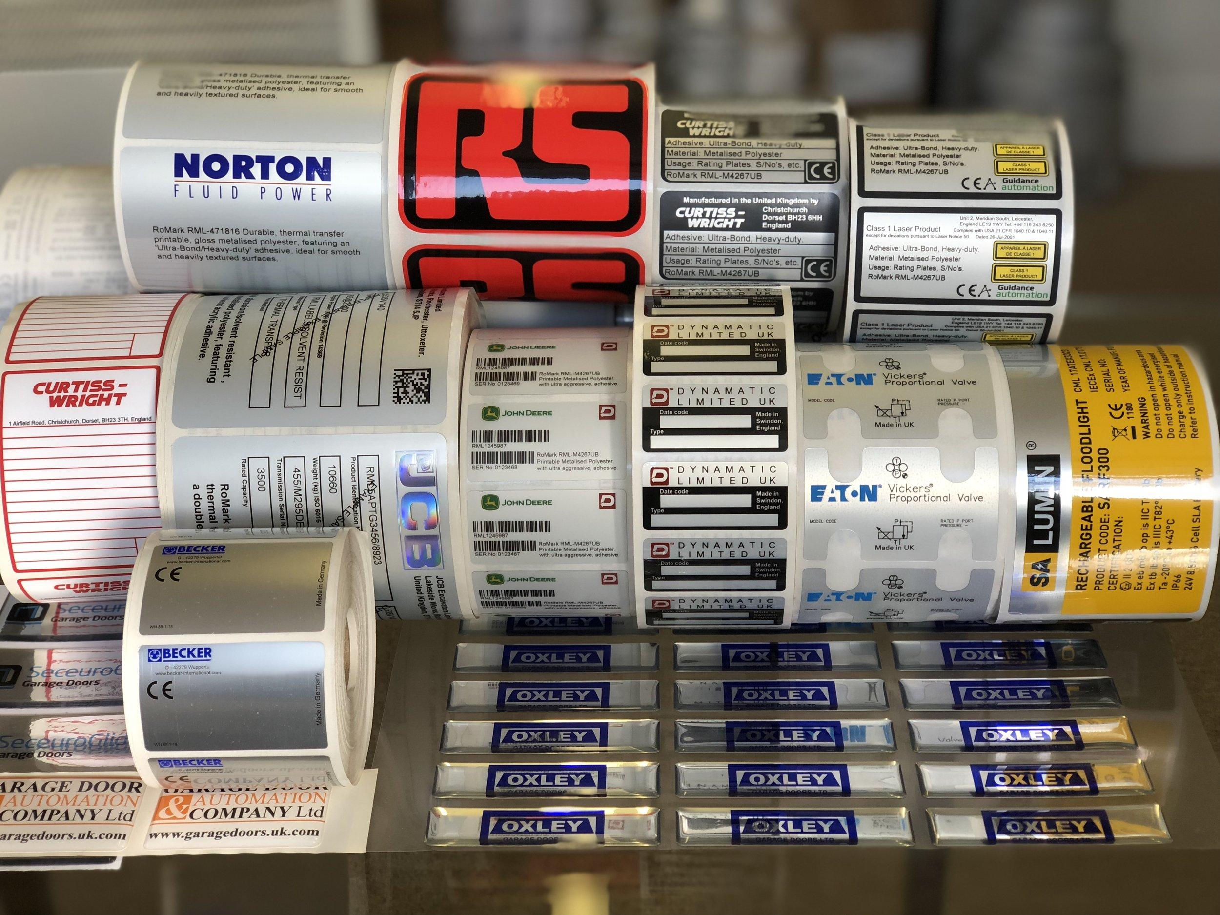 Industrial Labels