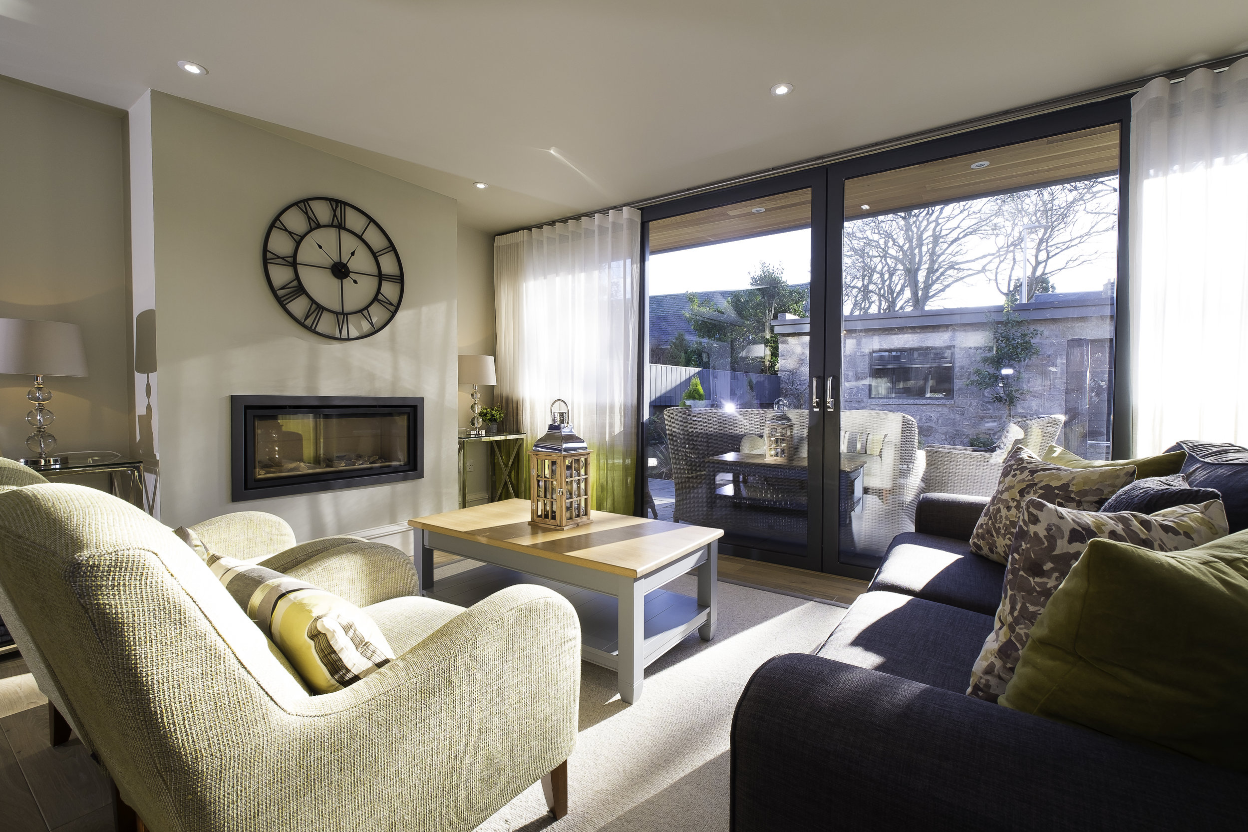 Contemporary interior design Aberdeen