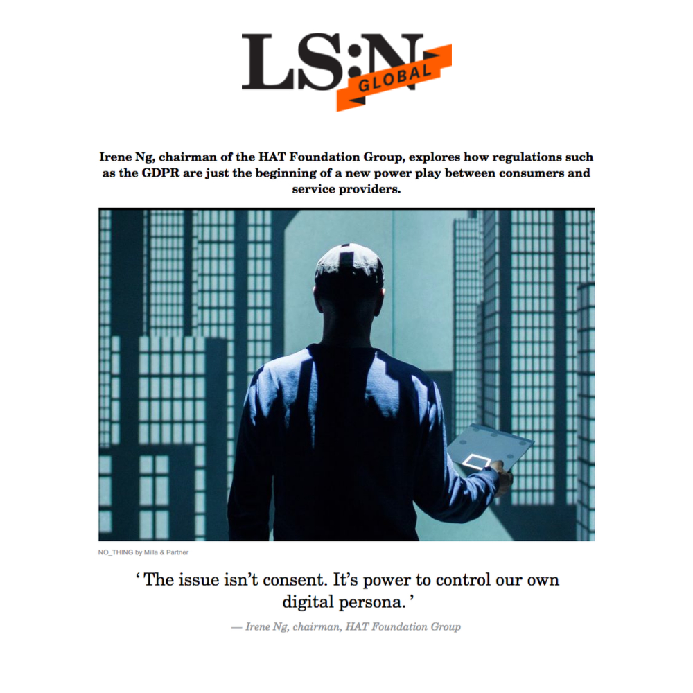Irene Ng writes in LS:N Global on the real battle with GDPR - 22 May 2018