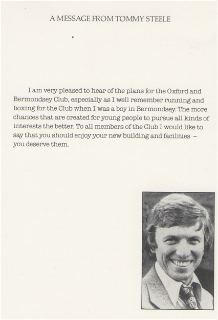 Tommy Steele Message.png