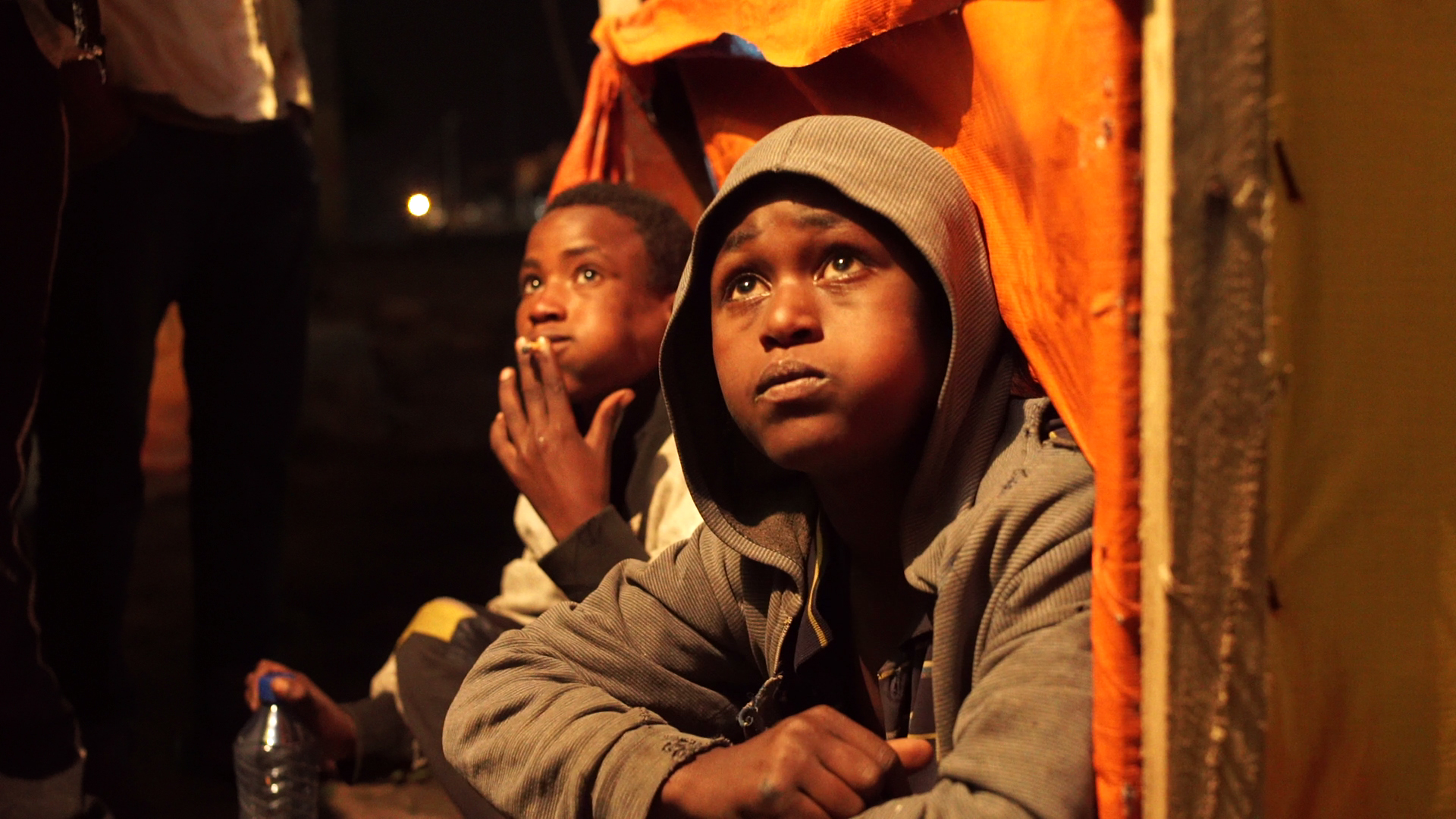Kadir 13 & Dita 14 - two Street Kids with addiction issues
