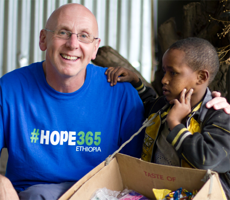 Michael Holmes   Chief Executive  After a career in design and the communications industry Michael left his role as Director of Citigate Communications and transferred to the charity sector over ten years ago. Since then he has worked almost exclusively with vulnerable children oversees with a particular interest in Ethiopia. Married to Jane and with two adult sons, Michael is passionate about how the teaching of Jesus should motivate people in the west to share their expertise and resources with the most vulnerable in our world.