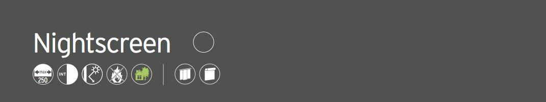 Tessuto screen leggero floccato