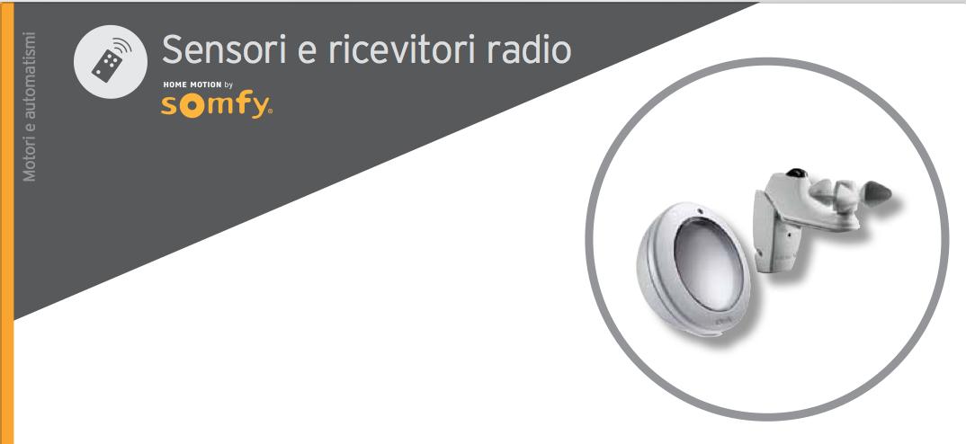 Sensori e ricevitori radio