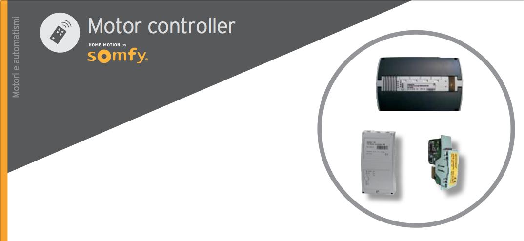 Motor controller Somfy