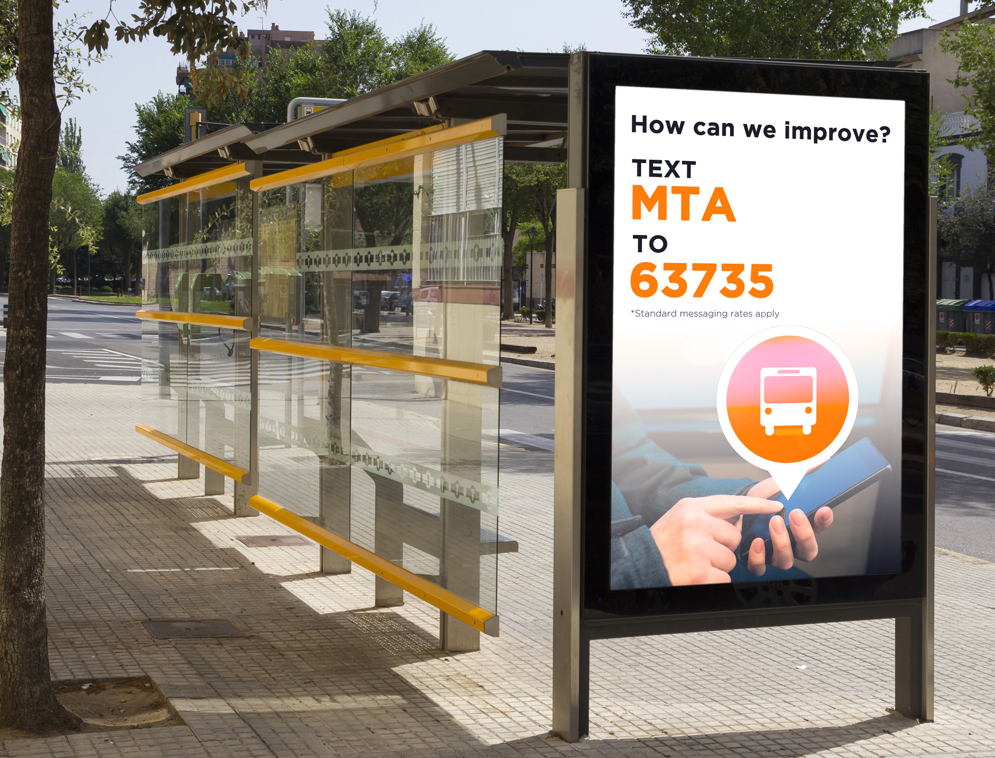 This image has an empty alt attribute; its file name is SMS-Example-Bus-Stop---Lg.jpg