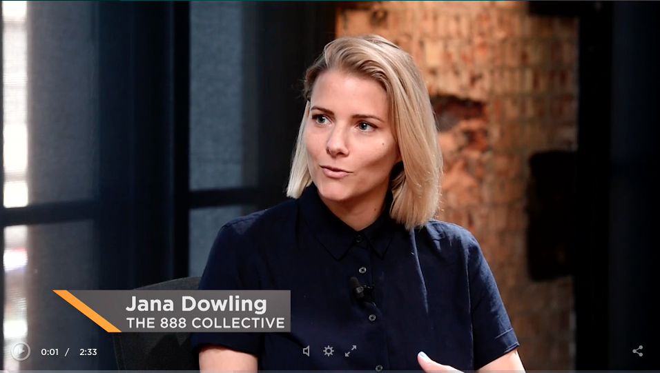 Check out Jana's previous interview with London live where she explains her story and how it lead to the creation of the 888 Collective  here .