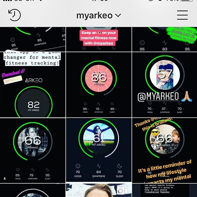 Please go follow @myarkeo we're building a company that will fund The 888 Collective forever - only hitch is we have to change its name to Arkeo Empowerment! Join us and start tracking your mental fitness. Our App MYARKEO is in the Apple and Google Play Stores to download for free now! #mentalfitness #takecontrol