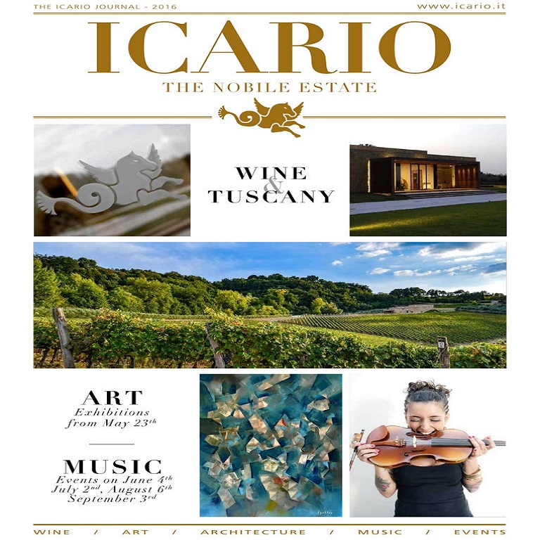 Icario Winery Journal   2016