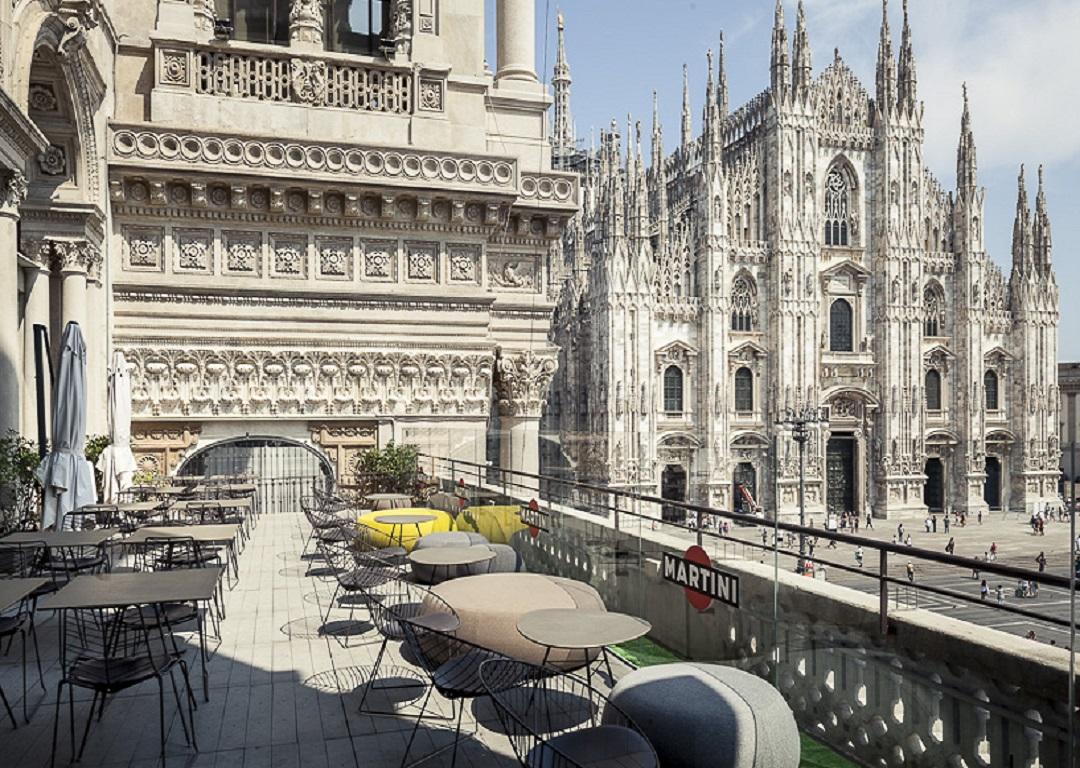Ita Terrazza Duomo 21 Restaurant Lounge Milano Italia