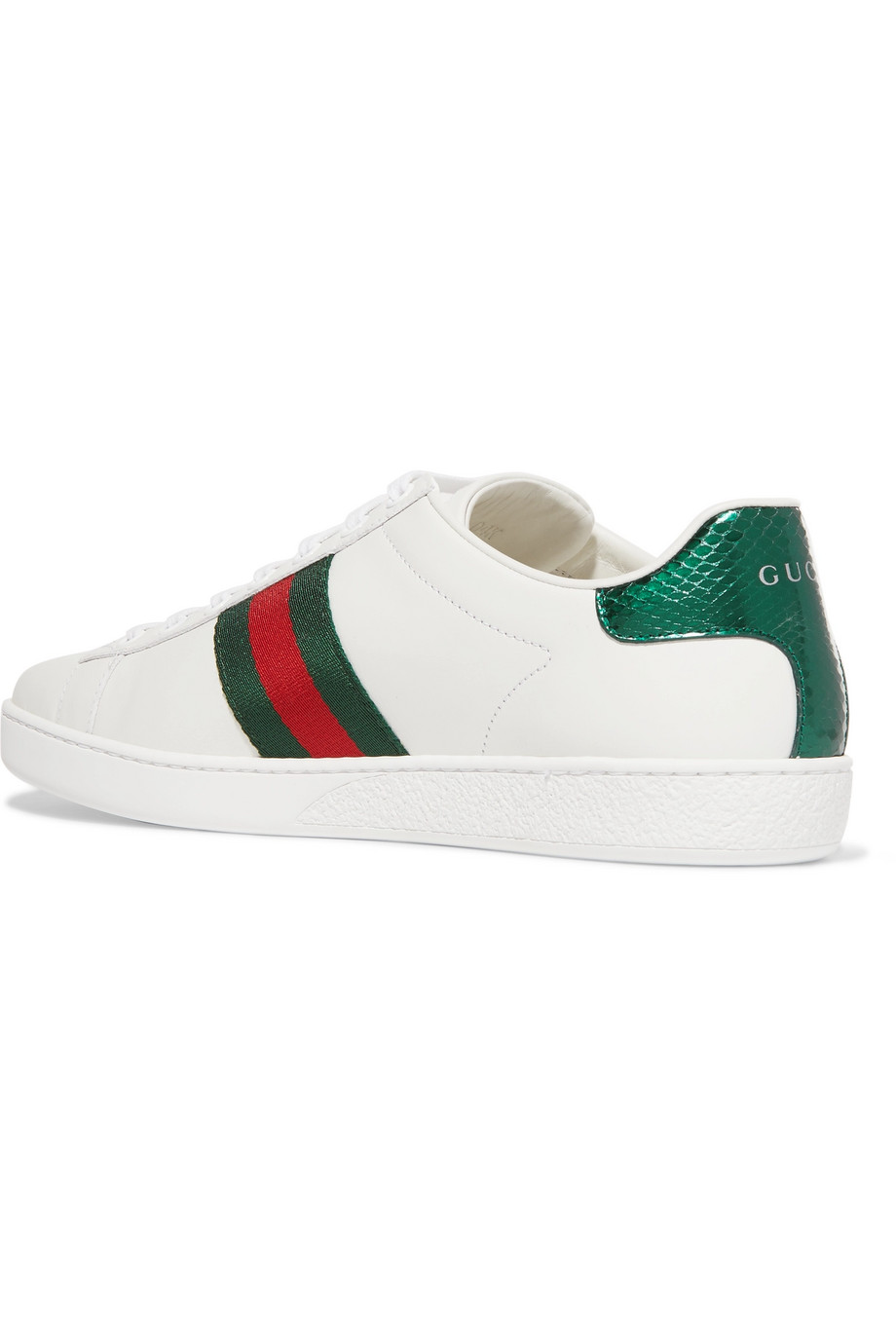 Gucci Ace Embroidered Sneaker — Evelyn