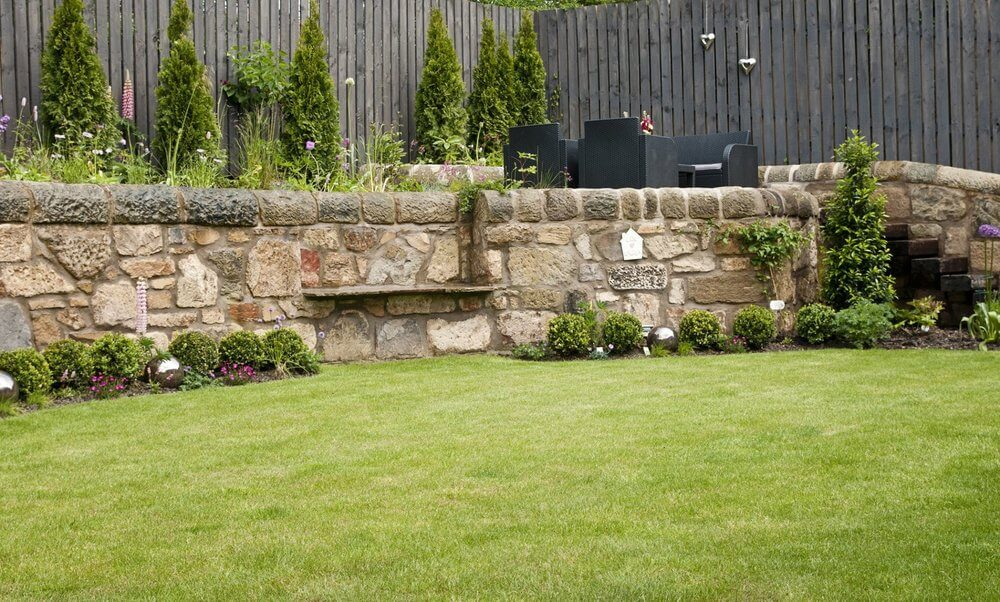 garden walling Edinburgh