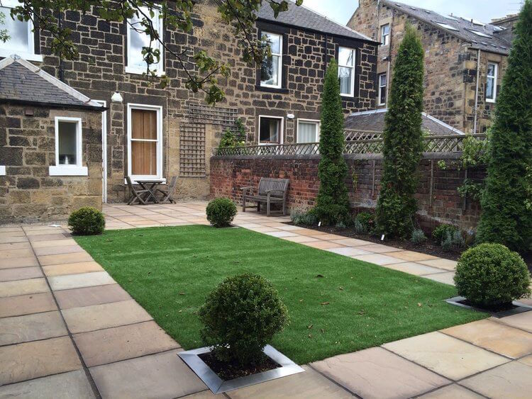 garden design Edinburgh Scotland