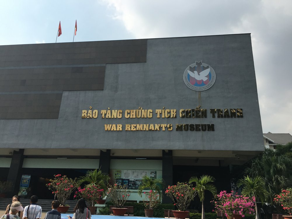 Go to the war museum for a real eye opening experience  Ho Chi Minh City, Vietnam