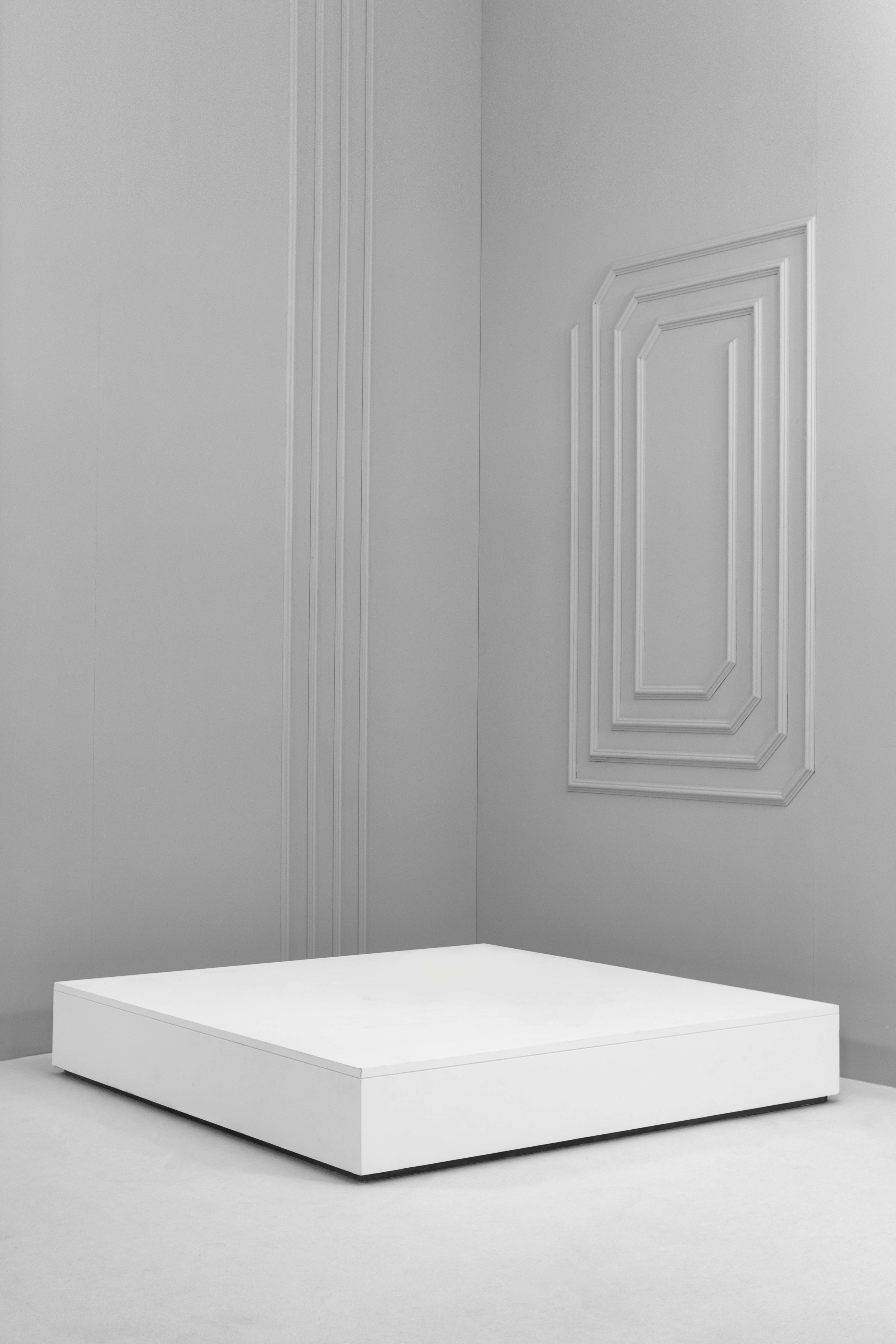 Low Square Plinths
