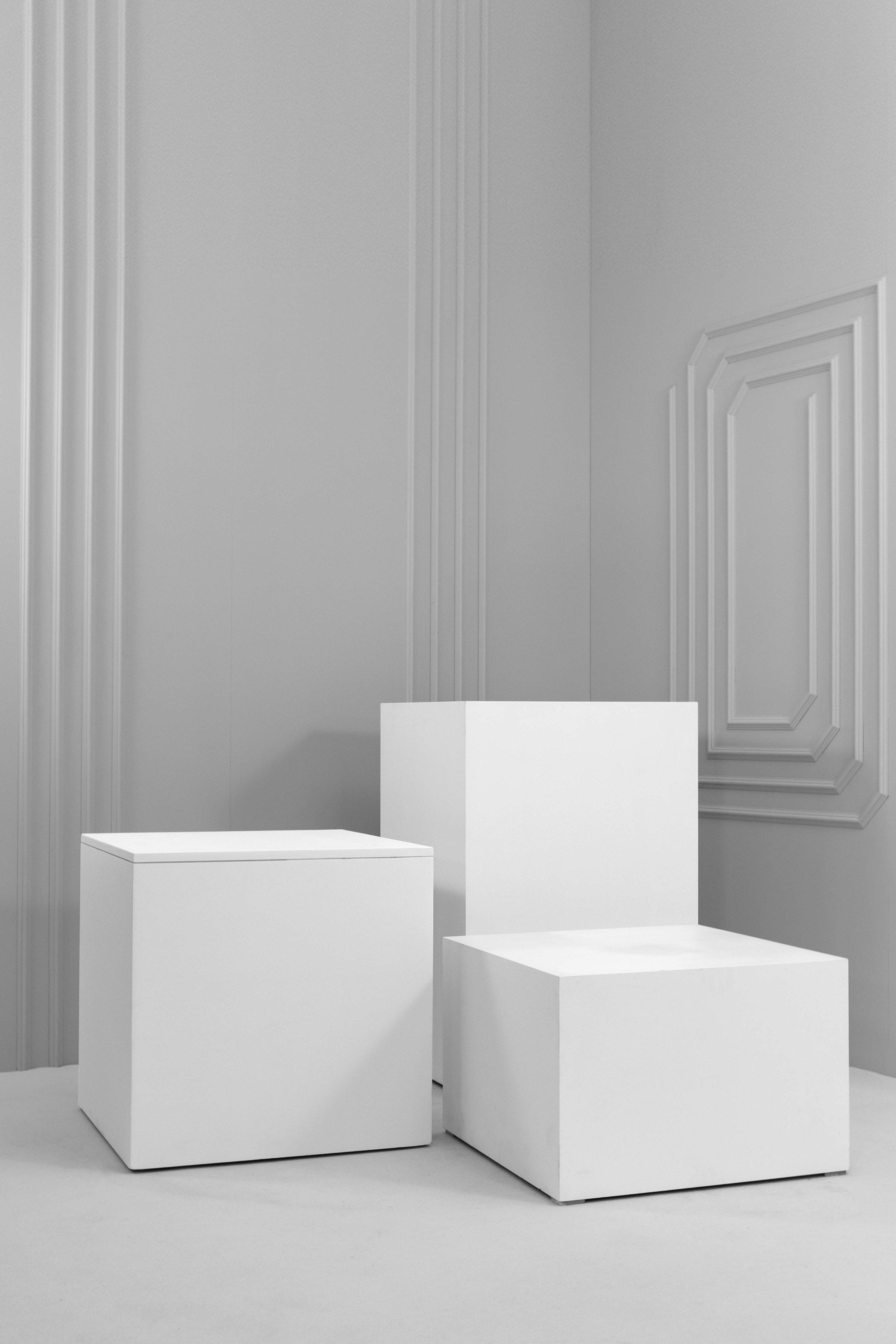 Large Wooden Plinths