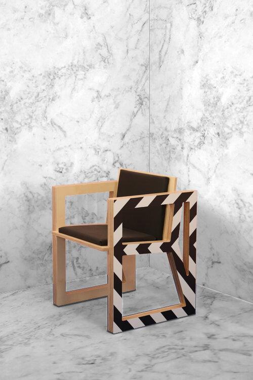 Graphic Tub Chair