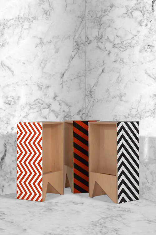 Marble and Graphic Hi Ply Stools 2.jpg
