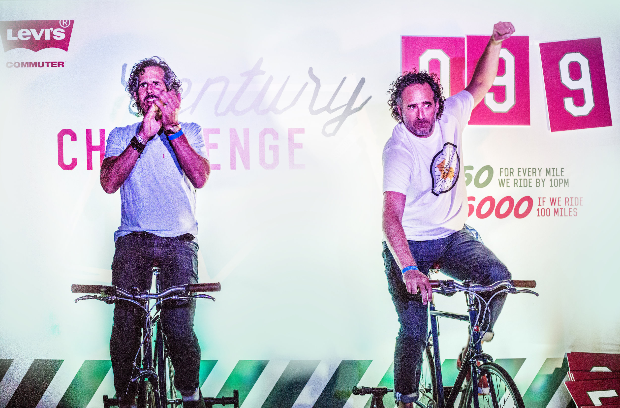 Levi's Century Challenge at Outsiders Ball 2015