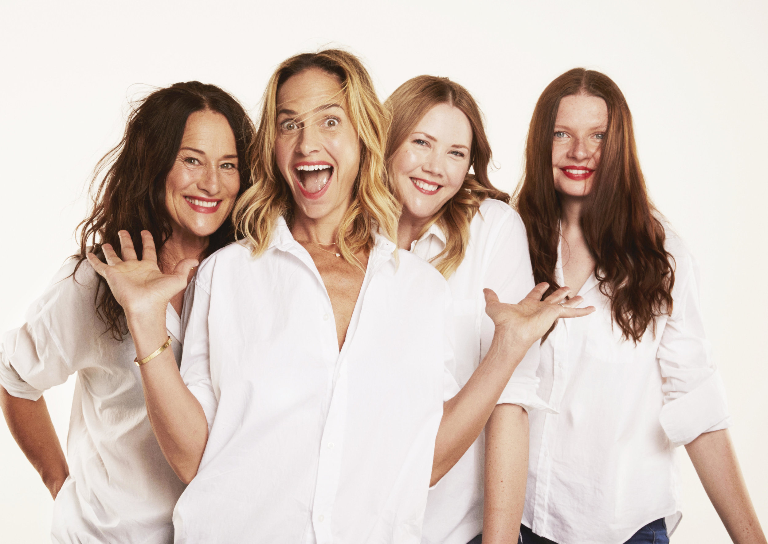 Pictured above from left to right: Casey Gouveia, Wendy Euler, Emilie Maslow and Tereza Janáková