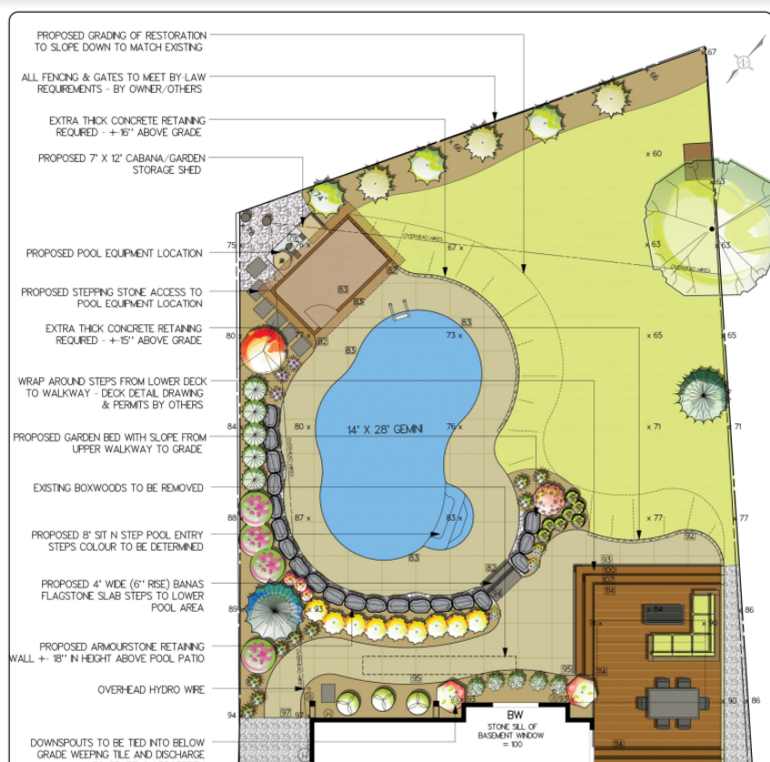 Landscape Design - From Sketches, to 3D Renderings.