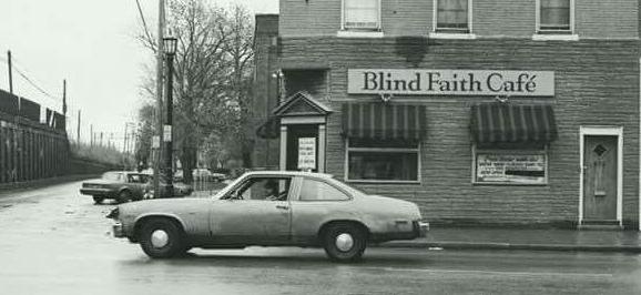 – Cafe History – - – The Blind Faith Story –