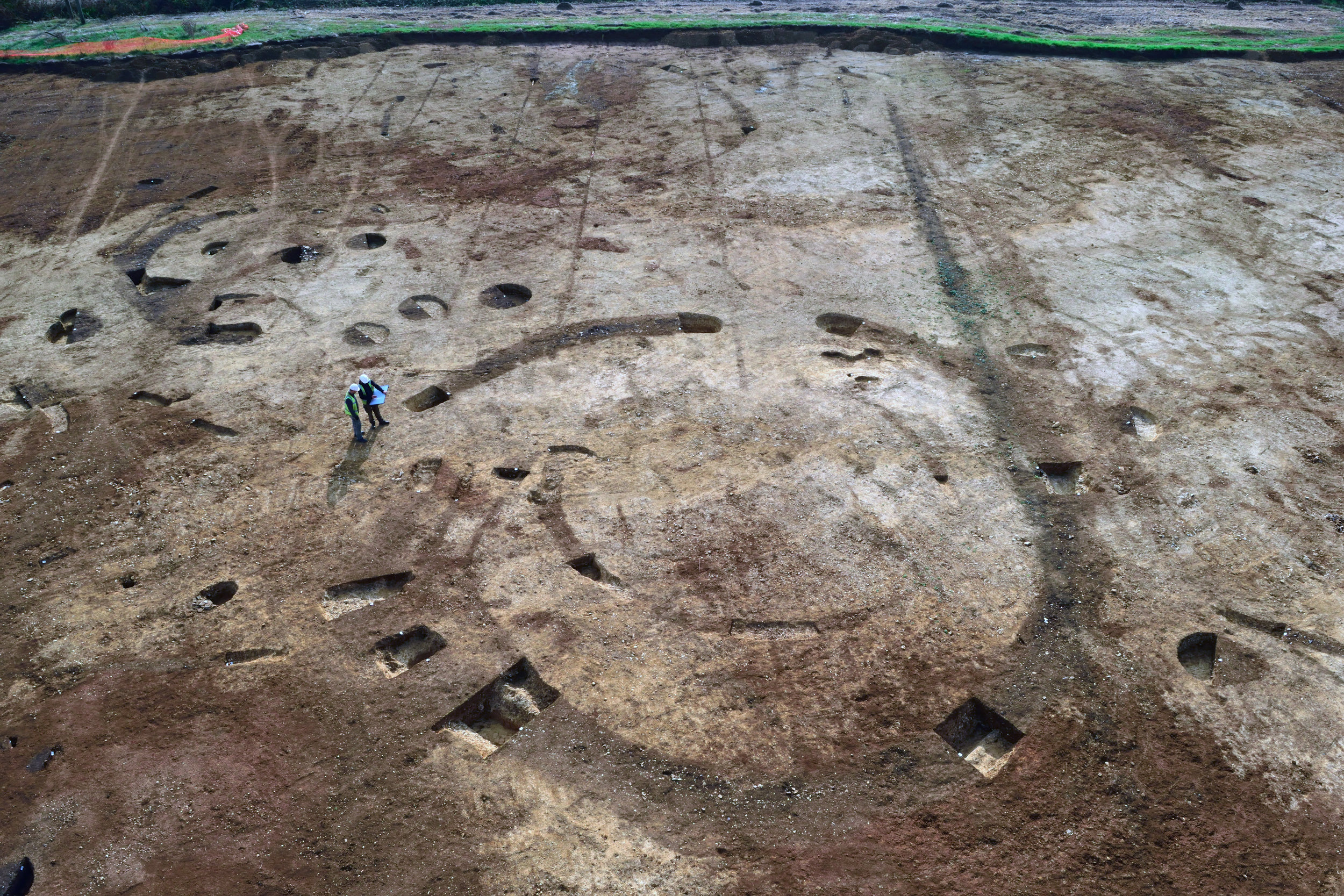 Excavations in Brackley.
