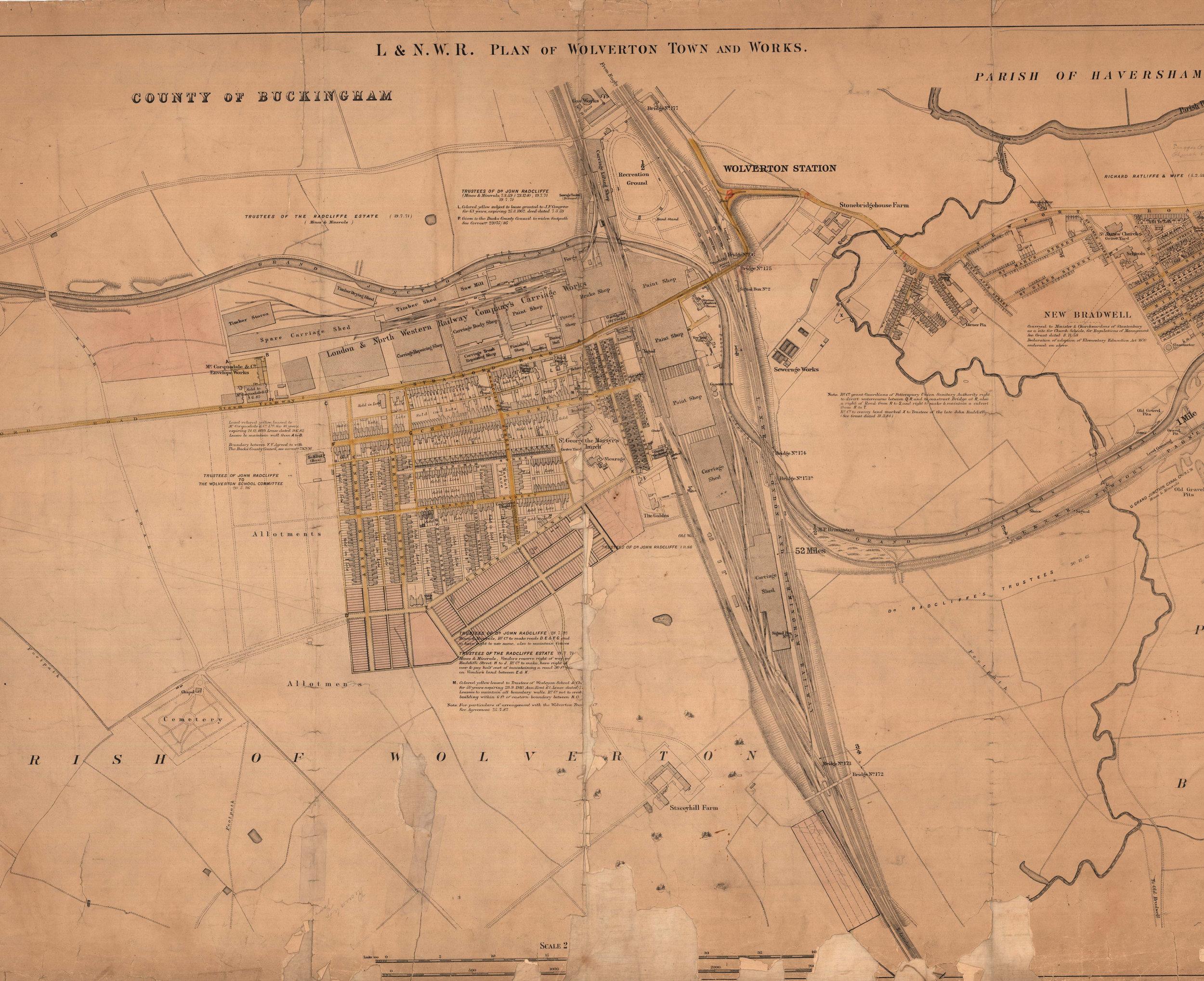 1897 Wolverton Works, Wolverton Town and New Bradwell edit.jpg
