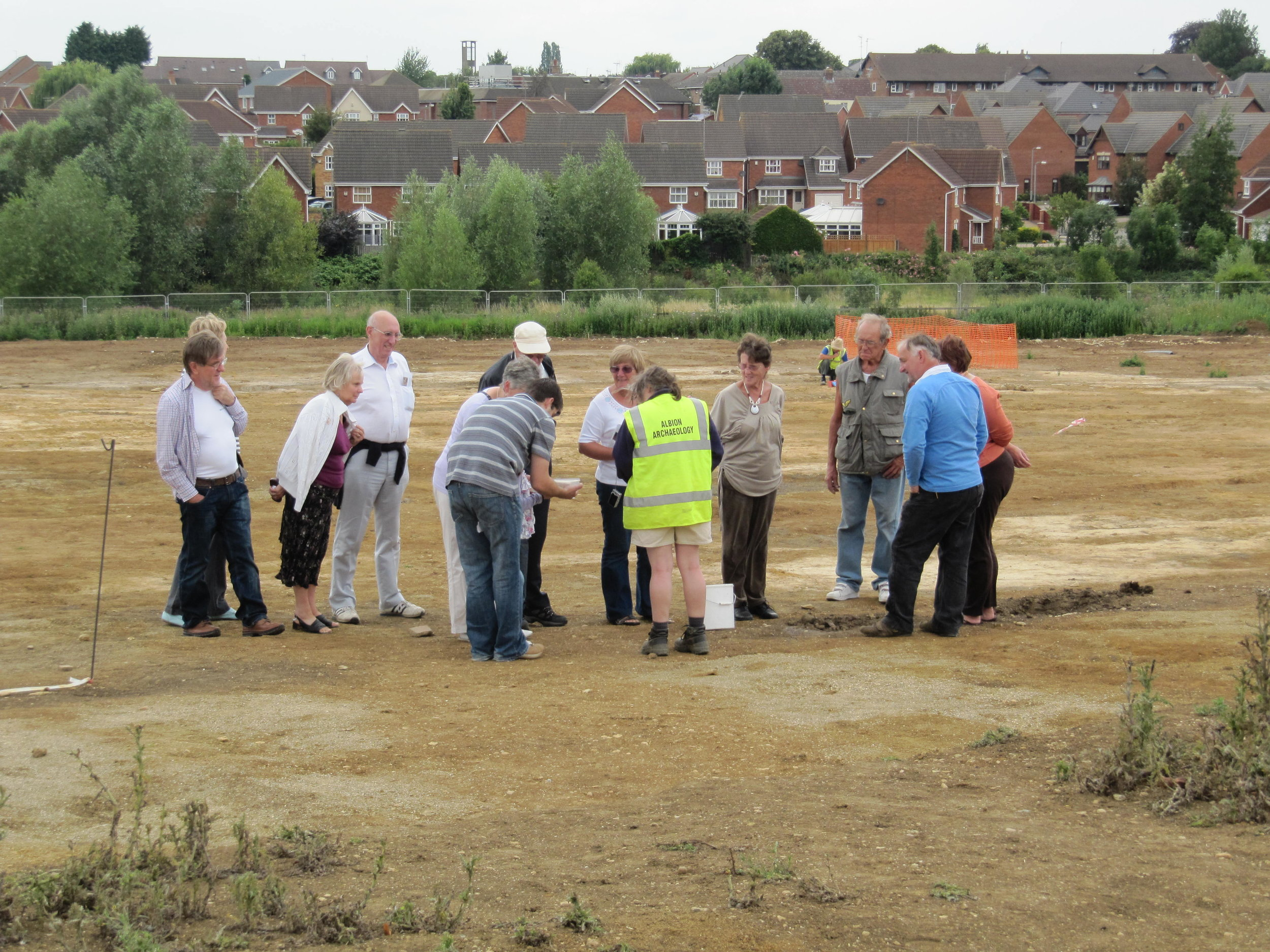 Presentation following work between Ipswich and Felixstowe, July 2017. An Albion Archaeology community engagement project.