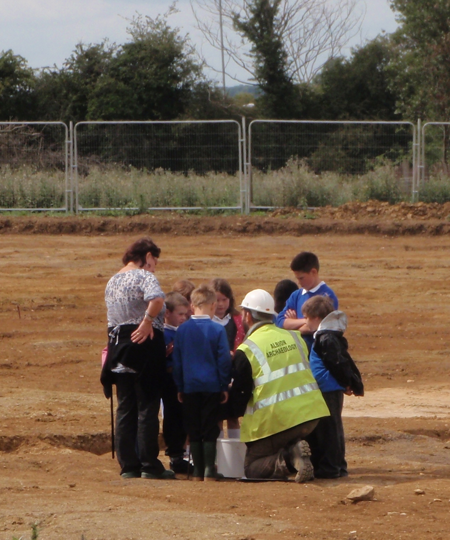 School visit at Burton Latimer