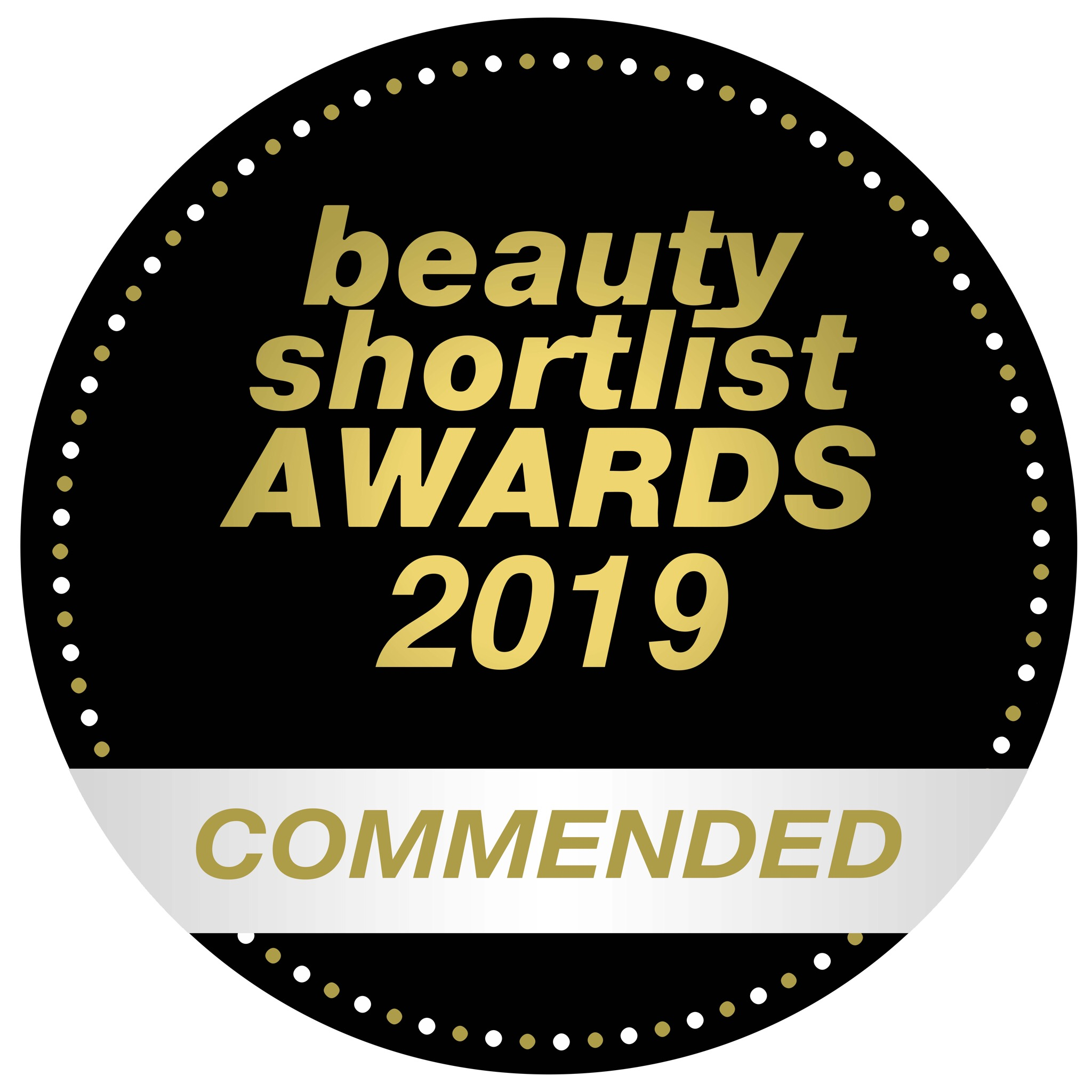 The Beauty Shortlist Awards Commended