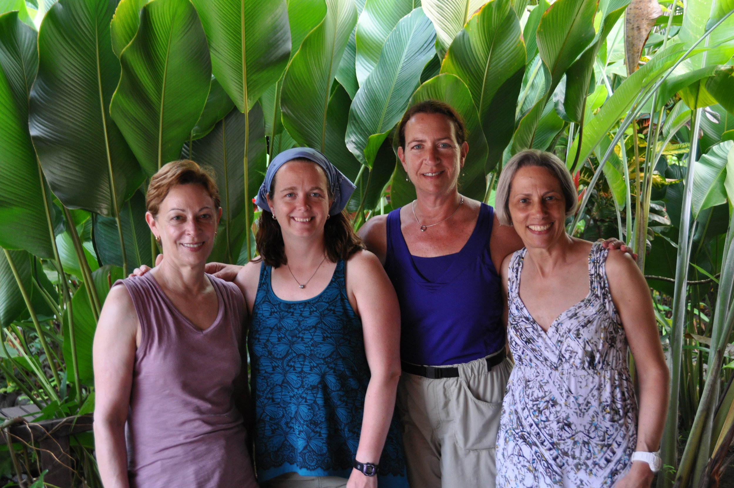 Ann Becker with Wonderful Women group
