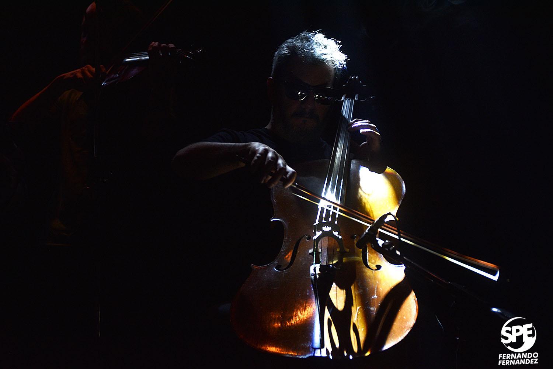 Acorazado Potemkin se presentó en el teatro Xirgu, Buenos Aires, Argentina el viernes 2 de agosto de 2019. En el mismo evento se presentó tambien la Orquesta Fernandez Fierro. 2 de agosto de 2019.Foto de: Fernando Fernandez.