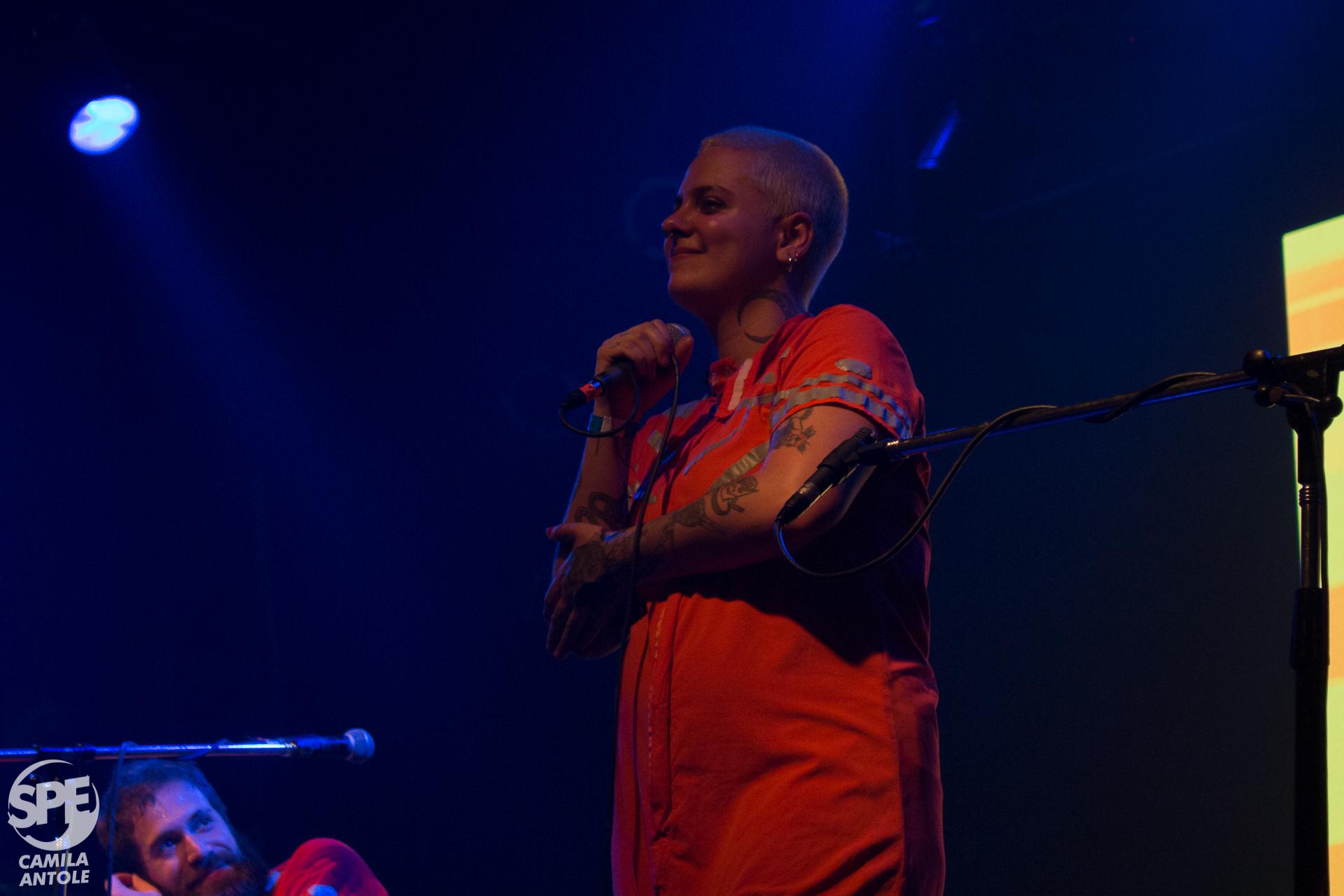 Francisco el Hombre se presentó en Niceto Club, Buenos Aires, Argentina, el miercoles 28 de Agosto de 2019. La noche estuvo compartida junto a  las artistas Paula Maffia y Lucy Patane. 28 de Agosto de 2019.Foto de: Camila Ledesma
