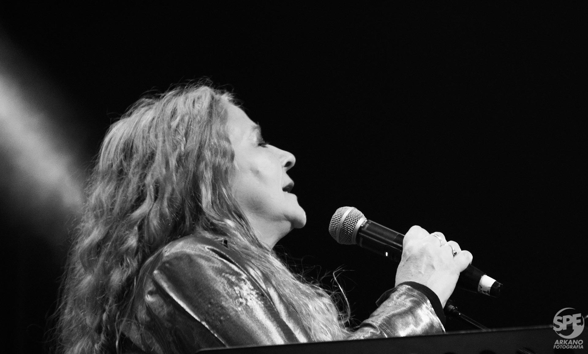 Fabiana Cantilo se presentó en el Teatro Gran Rivadavia, Buenos Aires, Argentina el dia sabado 31 de agosto de 2019. El show contó con numerosos invitados. Foto de: Federico Herrera.