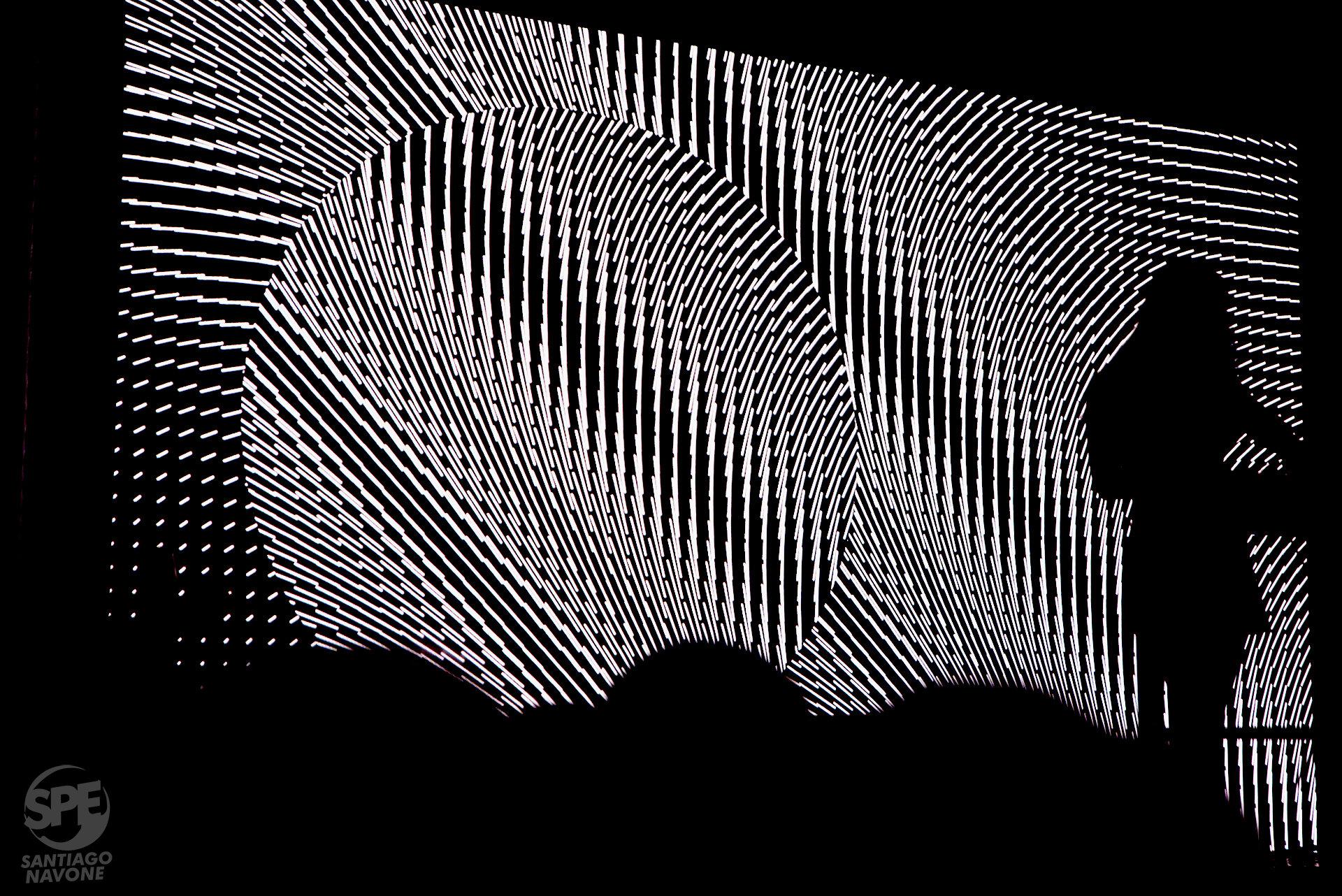 Se llevó a cabo el MUTEK en el Palacio Alsina (Buenos Aires, Argentina) los dias 13 y 14 de Septiembre de 2019. El MUTEK es un festival con sede en Montreal dedicado a la promoción de la música electrónica y las artes digitales. Foto de: Santiago Navone