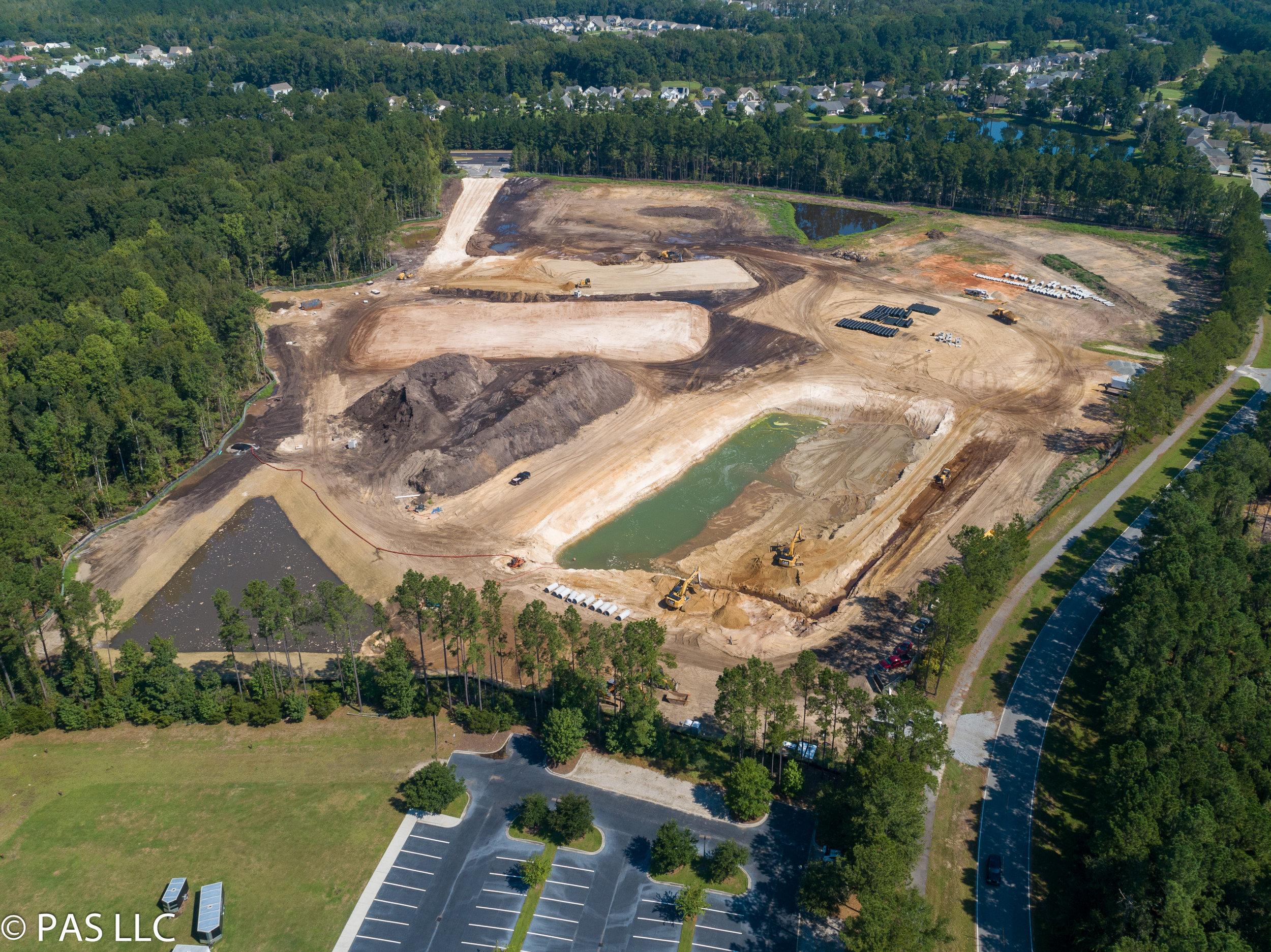 Future campus site of Hilton Head Christian in Bluffton, SC