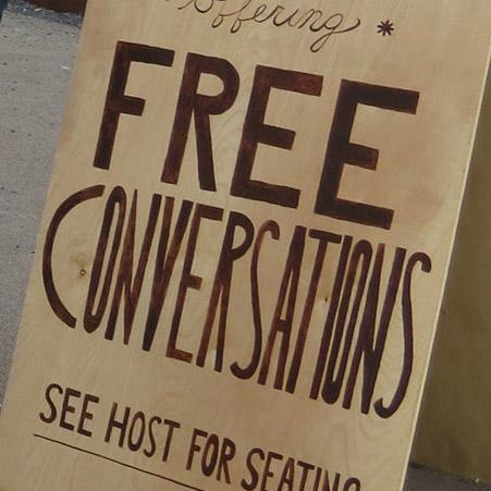 Conversationalist's Cafe