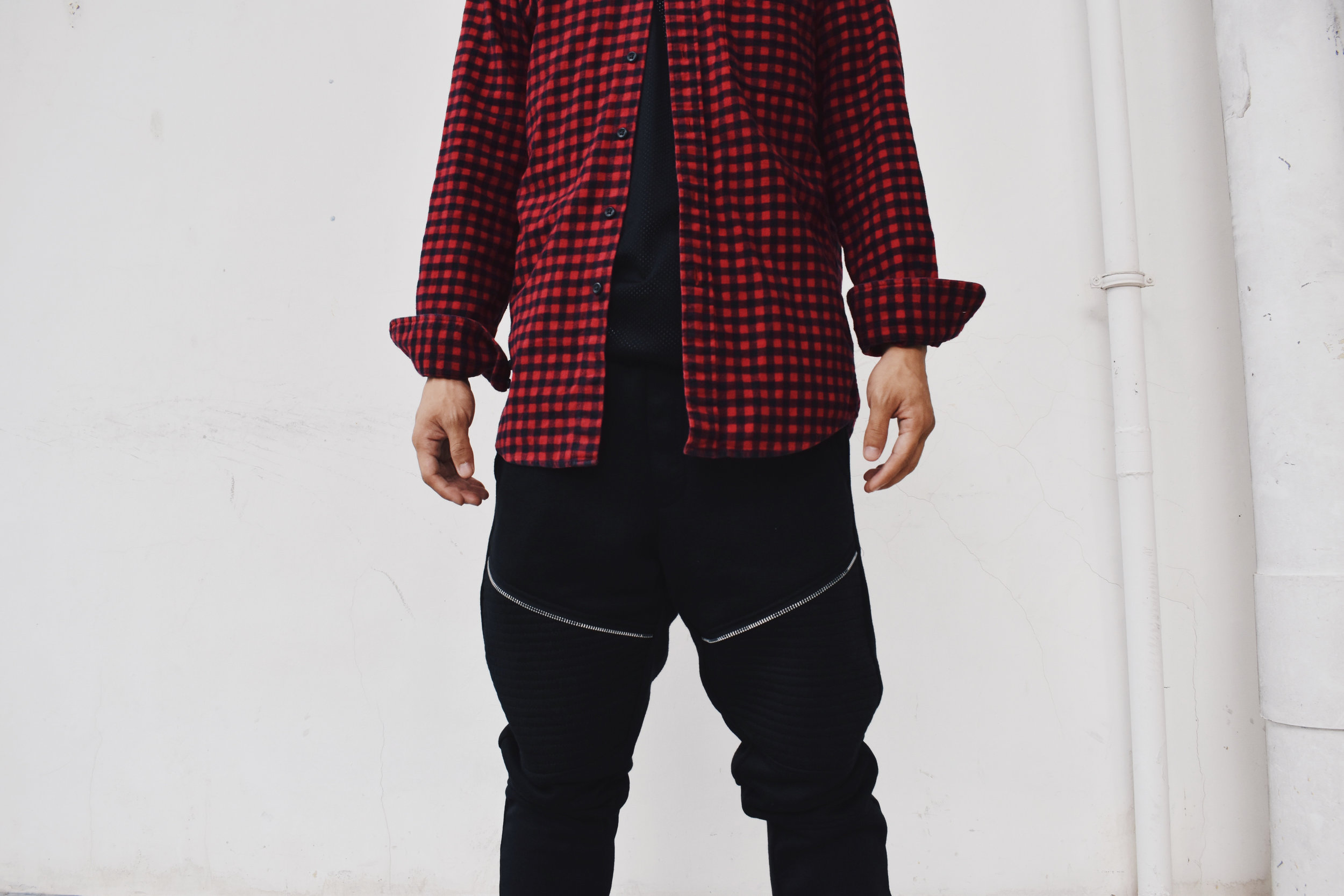 Brave Soul Quilted Joggers